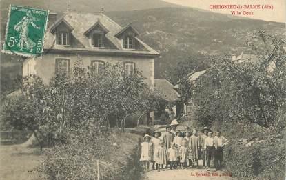 """/ CPA FRANCE 01 """"Cheignieu la Balme, villa Goux"""""""