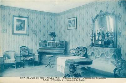 """/ CPA FRANCE 01 """"Chatillon de Michaille, l'hôtel des touristes"""""""