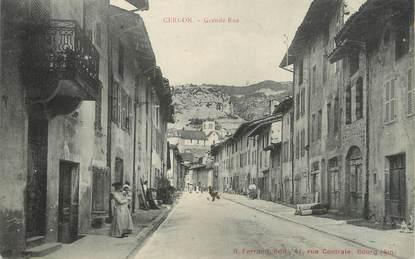 "/ CPA FRANCE 01 ""Cerdon, grande rue"""