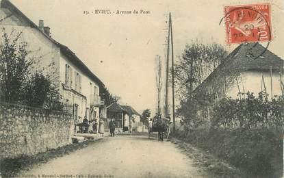 """/ CPA FRANCE 01 """"Evieu, av du Pont"""""""