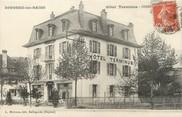 "01 Ain / CPA FRANCE 01 ""Divonne Les Bains, hôtel Terminus"""