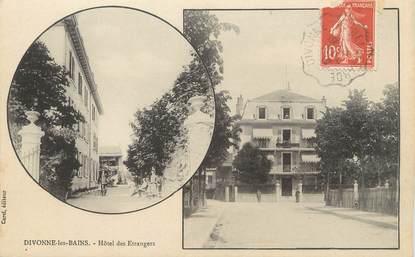 """/ CPA FRANCE 01 """"Divonne Les Bains, hôtel des Etrangers"""""""