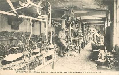 """CPA FRANCE  70 """"Aillevillers, usine de formes pour chaussures"""""""