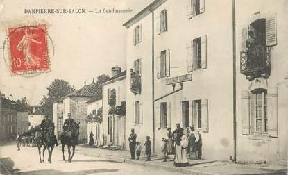 """CPA FRANCE  70 """"Dampierre sur Salon, la gendarmerie"""""""