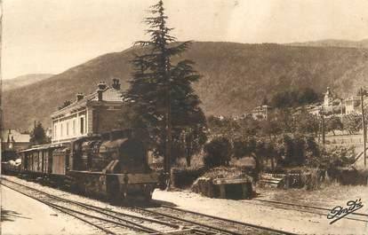 """/ CPA FRANCE 01 """"Gex, la gare SNCF"""" / TRAIN"""