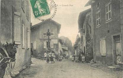 "/ CPA FRANCE 01 ""Loyes, grande rue"""