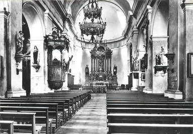 """/ CPSM FRANCE 74 """"Le Biot, intérieur de l'église"""""""