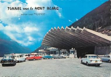 """/ CPSM FRANCE 74 """"Chamonix Mont Blanc, entrée du tunnel"""""""