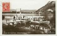 """01 Ain / CPSM FRANCE 01 """"Lac de Nantua, débarcadère de port"""""""