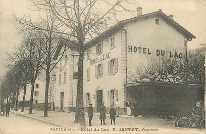 "/ CPA FRANCE 01 ""Nantua, hôtel du Lac"""