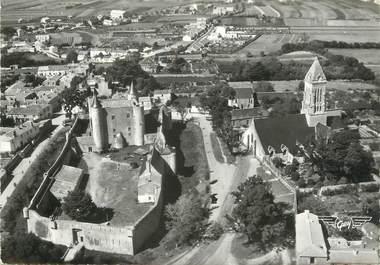 """/ CPSM FRANCE 85 """"Ile de Noirmoutier, le château et l'église"""""""
