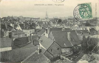 """CPA FRANCE 21 """"Chatillon sur Seine, vue générale"""""""