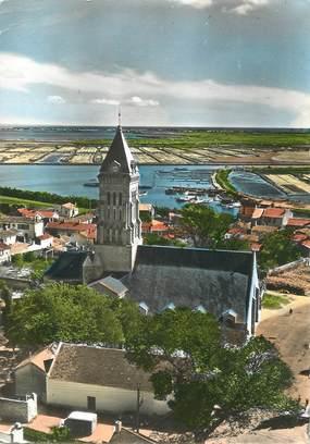 """/ CPSM FRANCE 85 """"L'Ile de Noirmoutier, l'église Saint Philibert"""""""