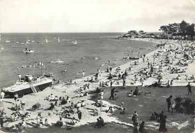 """/ CPSM FRANCE 85 """"Ile de Noirmoutier, la plage des dames et la pointe Saint Pierre"""""""