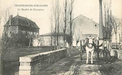 """CPA FRANCE 69 """"Villefranche, Le Moulin de Foncraine"""""""