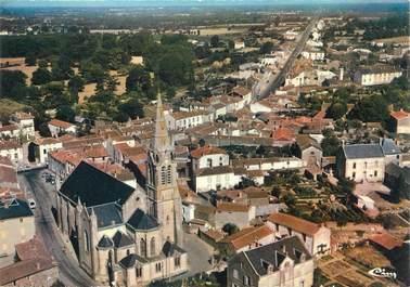 """/ CPSM FRANCE 85 """"Saint Fulgent, vue panoramique aérienne"""""""