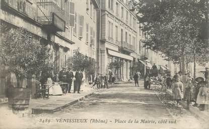 """CPA FRANCE 69 """"Vénissieux, place de la mairie"""""""
