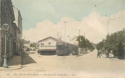 """CPA FRANCE 69 """"Tassin la Demi Lune, Les Trois Renards, terminus des Tramways"""""""