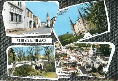"""/ CPSM FRANCE 85 """"Saint Denis la Chevasse"""""""