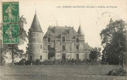 """CPA FRANCE 33 """"Bommes Sauternes, Chateau du Vigneau"""""""