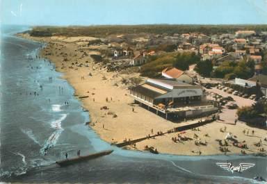 """/ CPSM FRANCE 85 """"La Tranche sur Mer, la plage et le casino municipal """""""