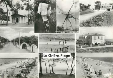 """/ CPSM FRANCE 85 """"La Tranche sur Mer, la Grière plage"""""""