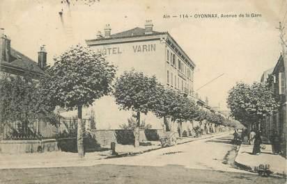 """/ CPA FRANCE 01 """"Oyonnax, av de la gare"""""""