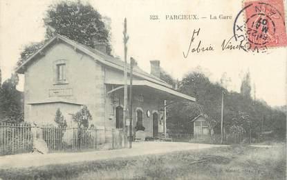 """/ CPA FRANCE 01 """"Parcieux, la gare"""""""