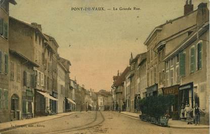"/ CPA FRANCE 01 "" Pont de Vaux, la grande rue"""