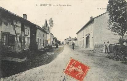"""/ CPA FRANCE 01 """"Sermoyer, la grande rue"""""""