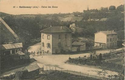 """/ CPA FRANCE 01 """"Sathonay, usine des Eaux"""""""
