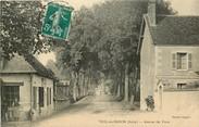 """36 Indre CPA FRANCE 36 """"Vicq sur Nahon, avenue des Ponts"""""""