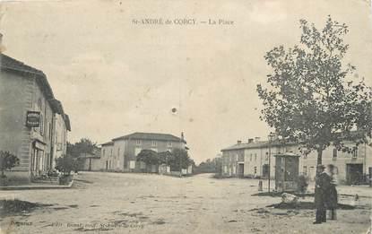 """/ CPA FRANCE 01 """"Saint André de Cory, la place"""""""