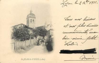 """/ CPA FRANCE 01 """" Saint Jean le Vieux """""""