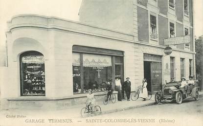 """CPA FRANCE 69 """"Sainte Colombe lès Vienne, Garage Terminus"""""""