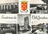"""86 Vienne / CPSM FRANCE 86 """"Souvenir de L'Isle Jourdain"""""""