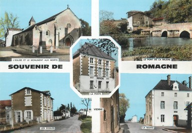 "/ CPSM FRANCE 86 ""Romagne"""