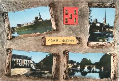 "/ CPSM FRANCE 86 ""Saint Savin sur Gartempe"""