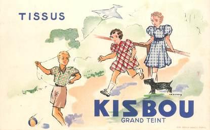 """CPA FRANCE 69 """"Thizy, Carte publicitaire Tissus KISBOU"""""""