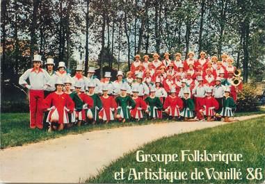 """/ CPSM FRANCE 86 """"Vouille"""" / MAJORETTES"""