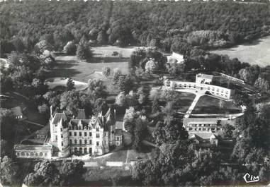 """/ CPSM FRANCE 86 """"Vounard sous Biard, vue aérienne du château de Boivre"""""""