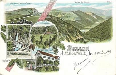 """CPA  FRANCE 88 """"Ballon d'Alsace"""""""