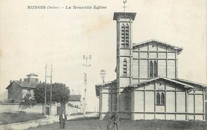 """/ CPA FRANCE 94 """"Rungis, la nouvelle église"""""""