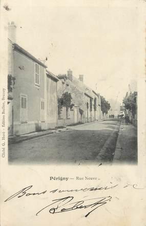"""/ CPA FRANCE 94 """"Périgny, rue neuve"""""""