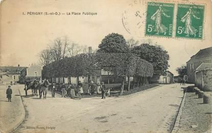 """/ CPA FRANCE 94 """"Périgny, la place publique"""""""