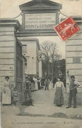 """/ CPA FRANCE 94 """"Limeil Brévannes, hôpital"""""""