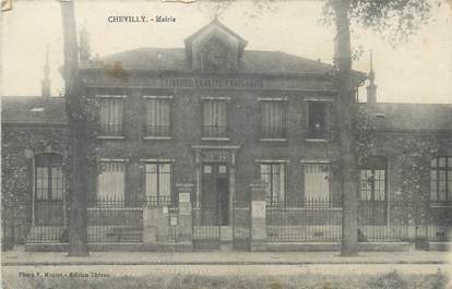 "/ CPA FRANCE 94 ""Chevilly, mairie"""