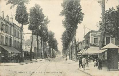 """/ CPA FRANCE 94 """"Alfortville, la rue du pont d'Ivry"""""""