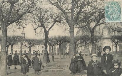 """/ CPA FRANCE 94 """"Charenton Le Pont, place des écoles"""""""