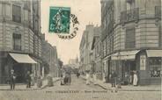 """94 Val De Marne / CPA FRANCE 94 """"Charenton, rue nouvelle"""""""